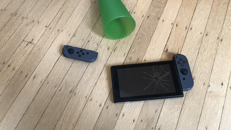 A dramatic reenactment of one of the many ways your Switch could die before September.