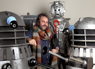 Illustration for article titled Peter Jackson wants to direct a Doctor Who episode. His fee? One Dalek.