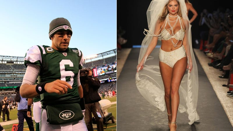 Illustration for article titled Mark Sanchez And Kate Upton Are Allegedly Humping