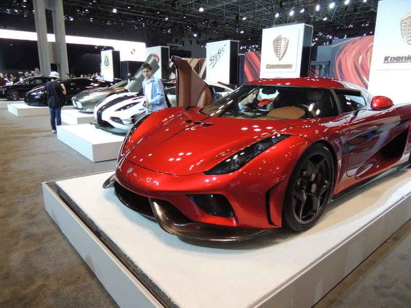 Illustration for article titled NYIAS 2016 PHOTODUMP (part 4- exotics)