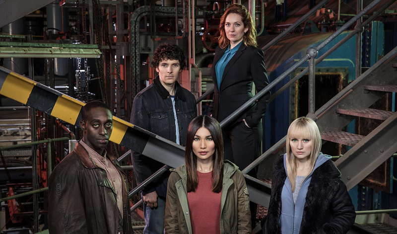 The cast of Humans.