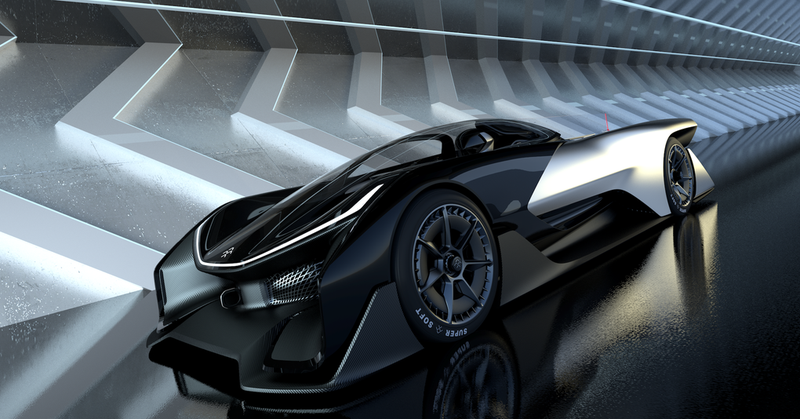 Illustration for article titled Faraday Future FFZERO1: Is This The Future Of Cars Or Total Bullshit?