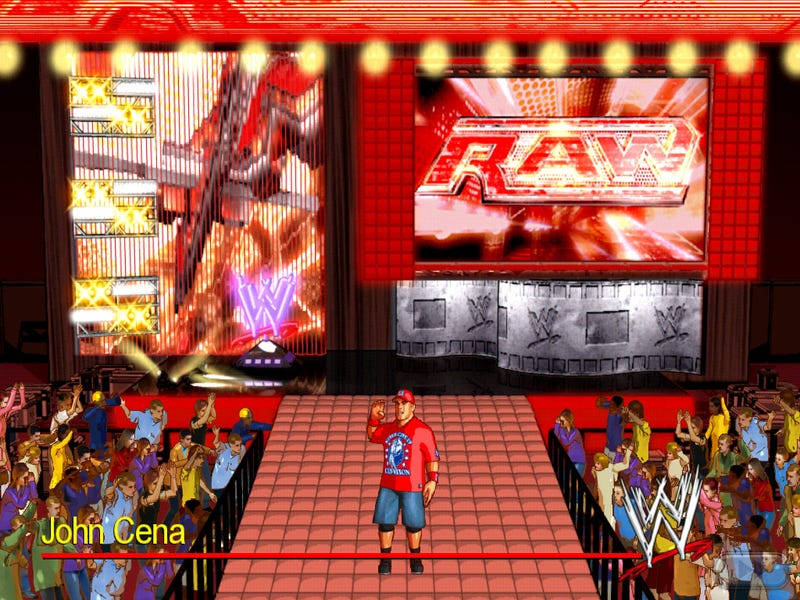 Illustration for article titled WWE Wrestlefest iPhone and iPad screens