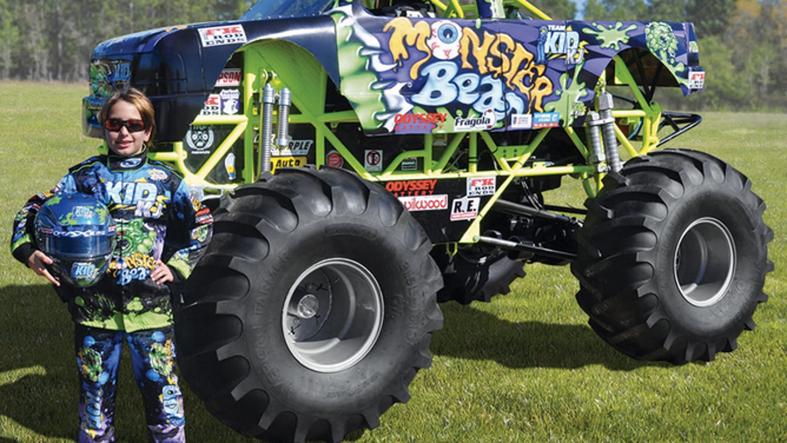 Monster Truck For Sale >> For 125 000 You Can Buy Your Kid A Miniature Monster Truck