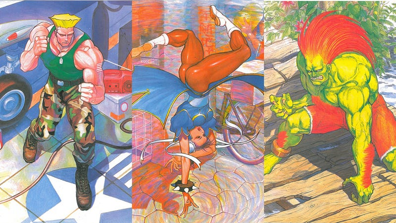 Street Fighter II's Vintage Art Book is a Thing of Beauty