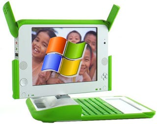 Illustration for article titled Microsoft Offers Mega-Discount on WinXP to Low-Cost Laptop Makers