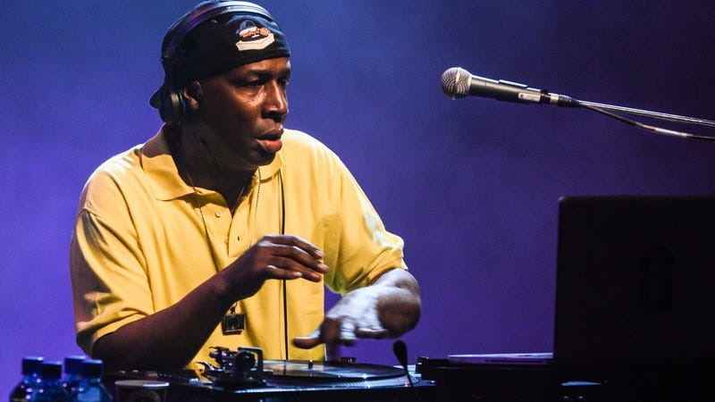 Grandmaster Flash at James Lavelle's Meltdown 2014. Photo courtesy of Getty Images