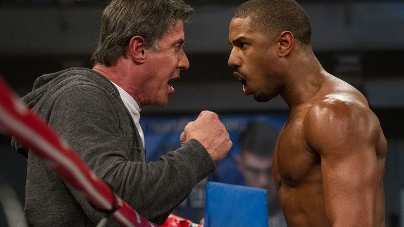 Illustration for article titled Chicago, see Michael B. Jordan and Sylvester Stallone in Creed, early and for free