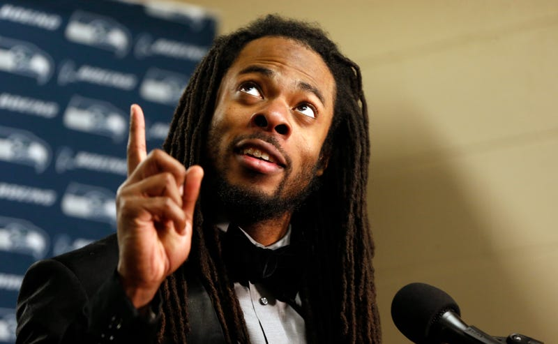 Illustration for article titled Richard Sherman Is Fed Up With Publicly Funded Stadiums