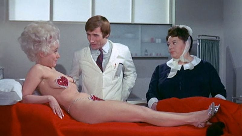Carry On Doctor Again