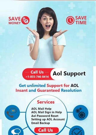 Illustration for article titled AOL Toll   Free Number +1-855-746-8414