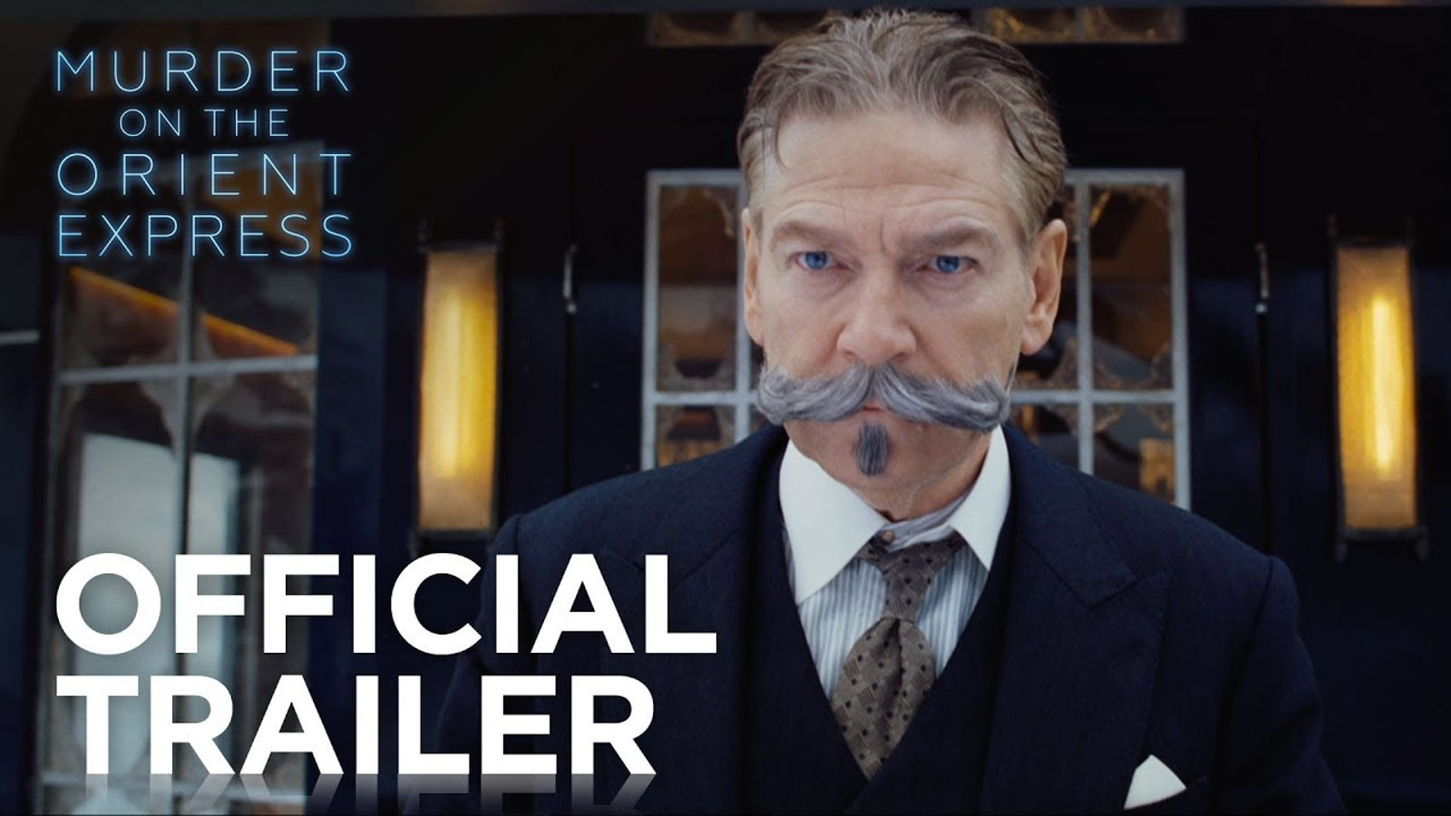 Watch The Mustachio D Trailer For Murder On The Orient Express