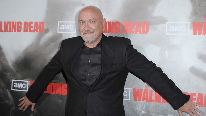 Frank Darabont in 2010, protecting his show. (Photo: Getty Images, Jason Merritt)