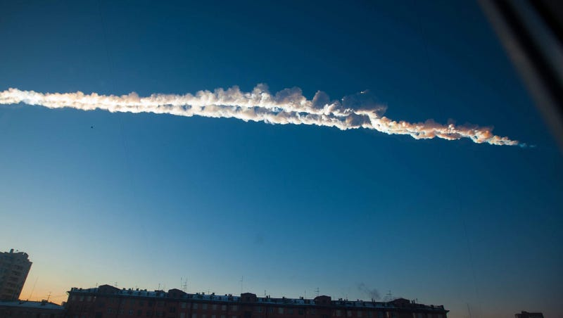 Illustration for article titled The shockwave from the Chelyabinsk meteor circled the Earth -- twice!