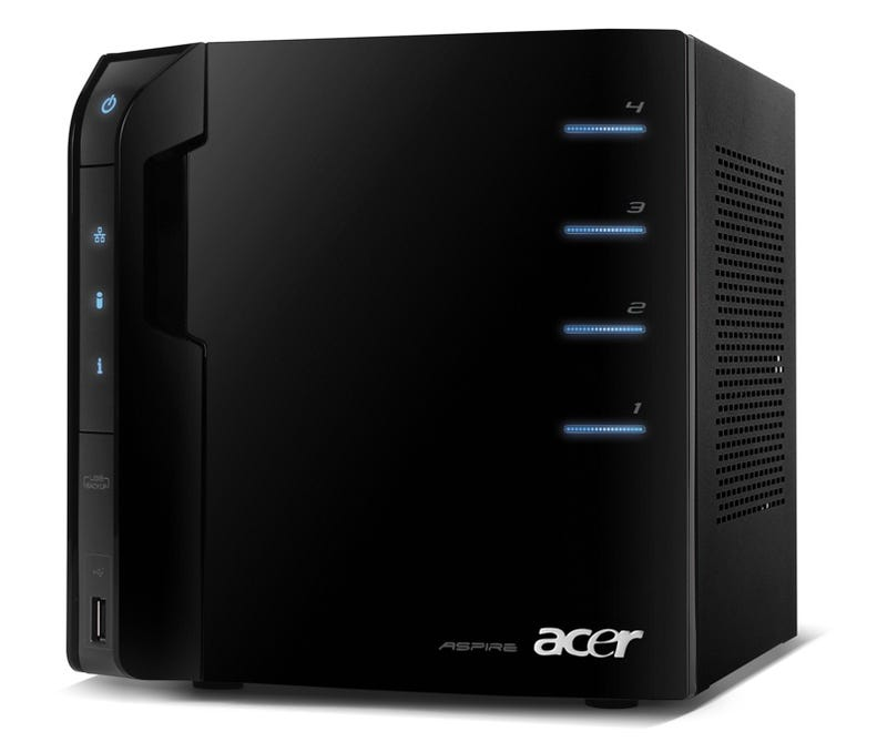Illustration for article titled Acer Aspire easyStore Expandable 1TB Windows Home Server Cube Is $400