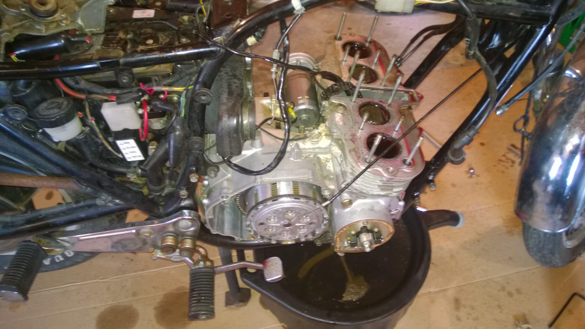 Everything You Learn Fixing A 300 Craiglist Bike From Hell Easy 13 Wire Diagram For Chopper