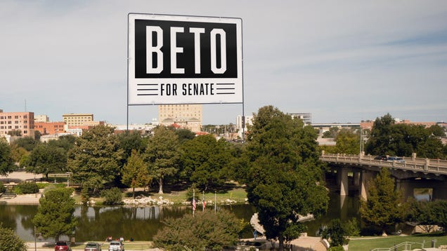 Democratic Candidate Blows Fundraising Lead On Massive 15-Story Lawn Sign