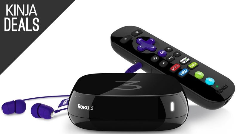 Illustration for article titled Add a Roku 3 to Your Home Theater Collection for $63