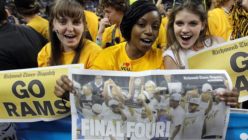 """Illustration for article titled Is Being Cursed To A """"First Four"""" NCAA Game Actually A Blessing?"""