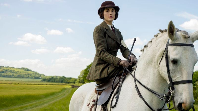 Lady Mary Crawley (Michelle Dockery) [Nick Briggs/Carnival Film & Television Limited 2014]