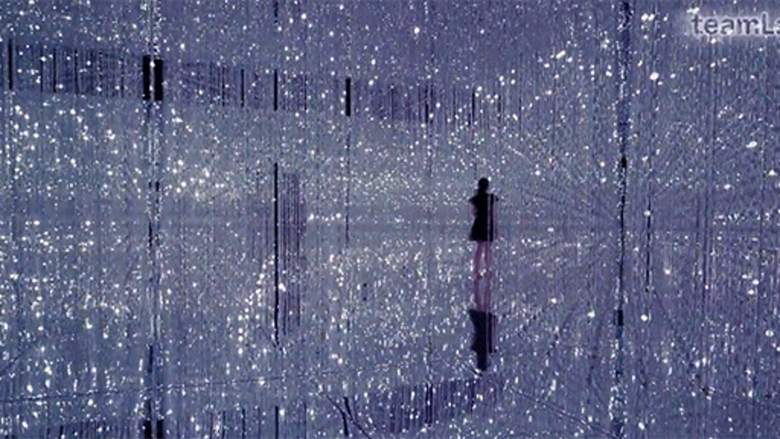 Walking Inside This Crystal Universe Is Like Wandering the Universe