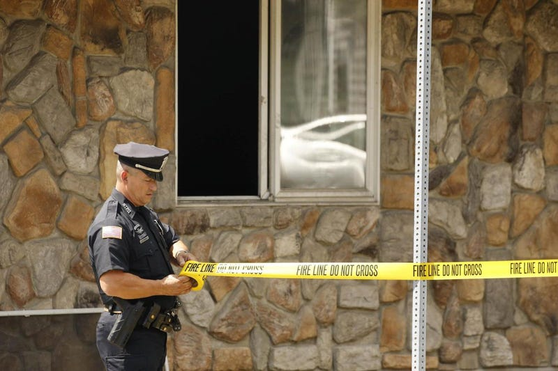 Police section off home of Kenneth Walker in Tonawanda, N.Y.Twitter