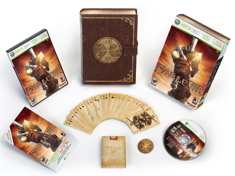 Fable III's Kingly Collector's Edition Is Xbox 360 Only