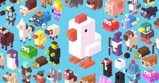 Illustration for article titled Crossy Road Is A Game About Crossing Roads, And It Is Great