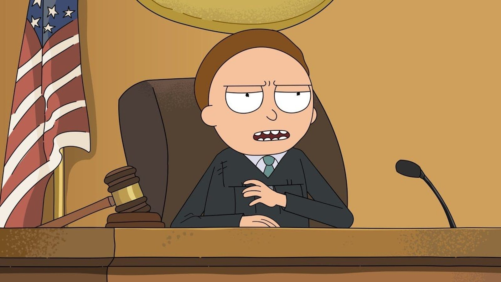 'Rick and Morty' Re-enact the Most Insane Court Case of All Time