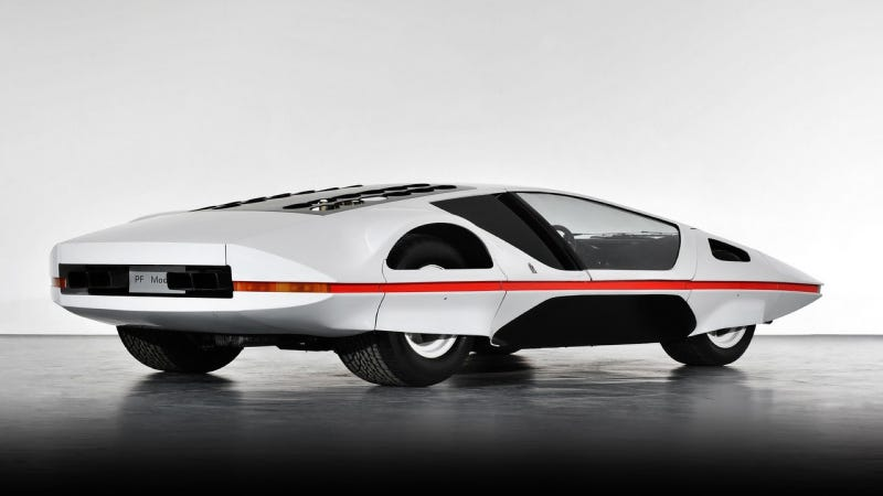 Illustration for article titled The Bizarre Ferrari 512S Modulo Concept Finally Went on Its First Drive on Public Roads