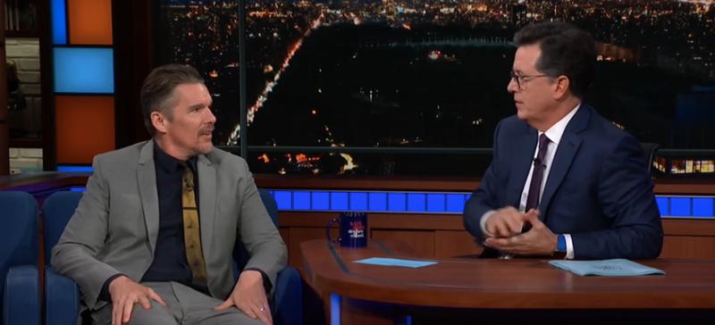 Ethan Hawke, Stephen Colbert