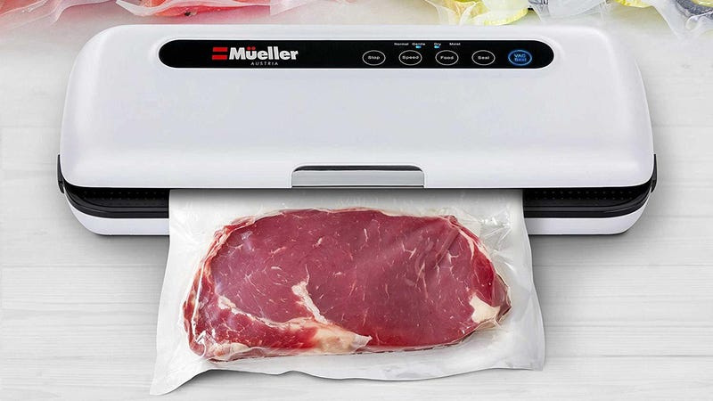 Vacuum Sealer Machine By Mueller | $40 | Amazon | Clip the $20 coupon