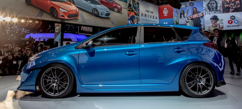 Illustration for article titled The Scion iM Will Be An Actual Production Thing