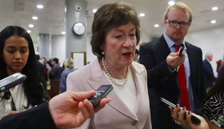 Illustration for article titled Senator Susan Collins Is Getting a Ton of Coat Hangers at Her Office Right Now