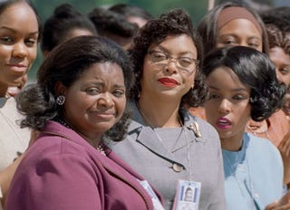 Octavia Spencer, Taraji P. Henson and Janelle Monáe in a scene from Hidden Figures20th Century Fox