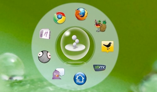 Illustration for article titled Circle Dock Arranges Your Shortcuts in a Mouse-Centered Application Dock