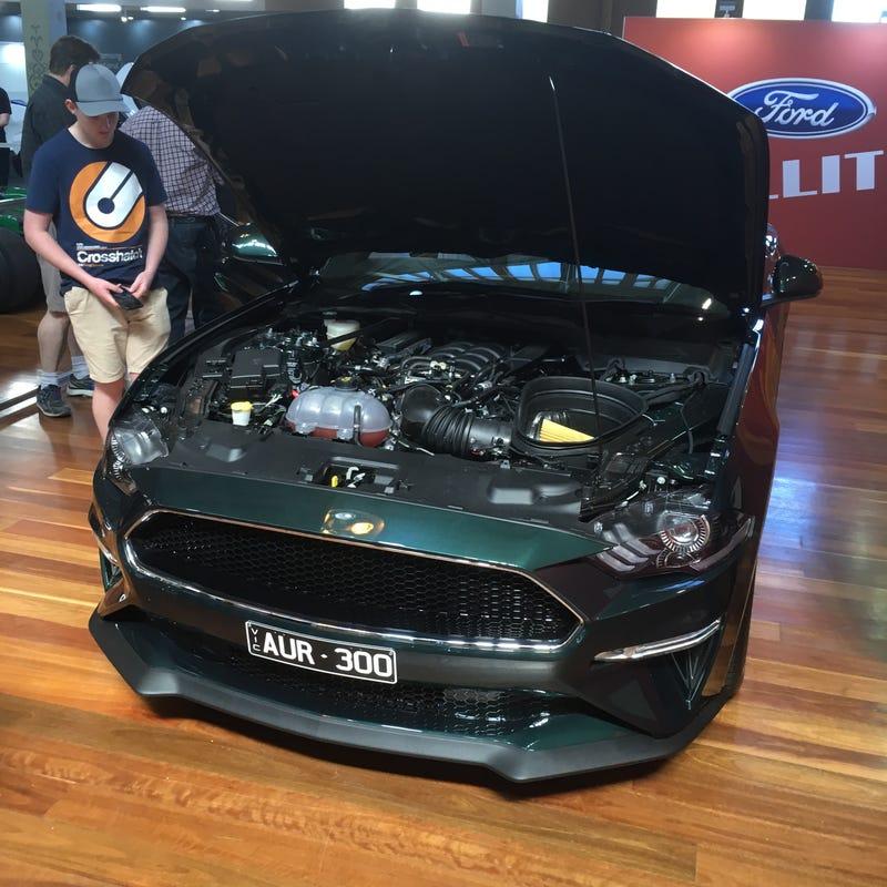Illustration for article titled Ford Mustang Bullitt