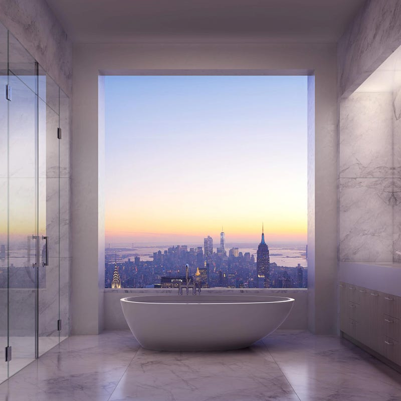 Illustration for article titled Is this the most amazing bathtub in the world? (Spoiler: Yes, yes it is)