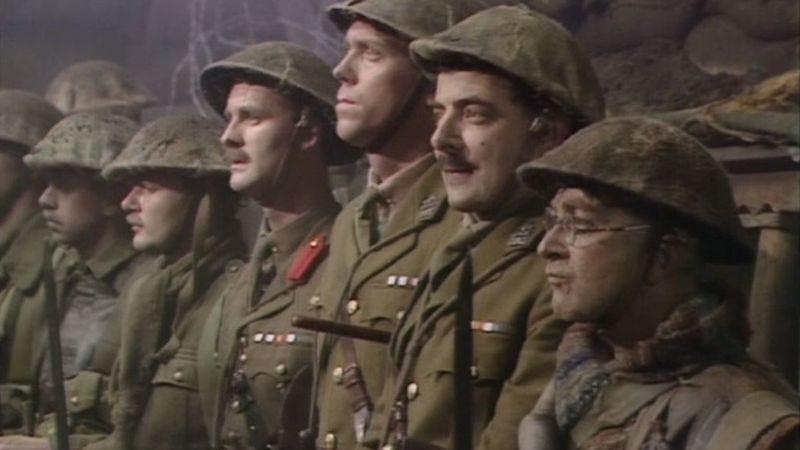 Tim McInnerny, Hugh Laurie, Rowan Atkinson, Tony Robinson (BBC One)