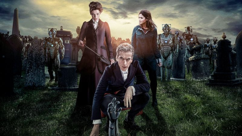 """Illustration for article titled Doctor Who: """"Death In Heaven"""""""