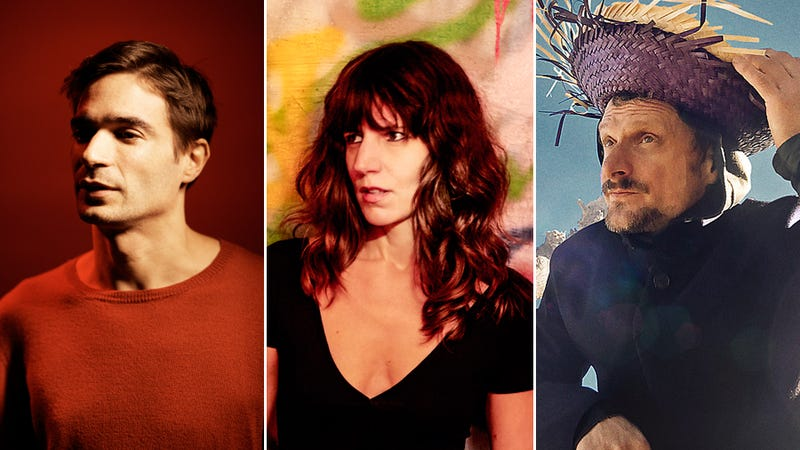 Jon Hopkins (Photo: Steve Gullick), Eleanor Friedberger (Photo: Chris Eckert), and DJ Koze (Photo: Gepa Hinrichsen)