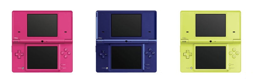 what are all the colors of the dsi