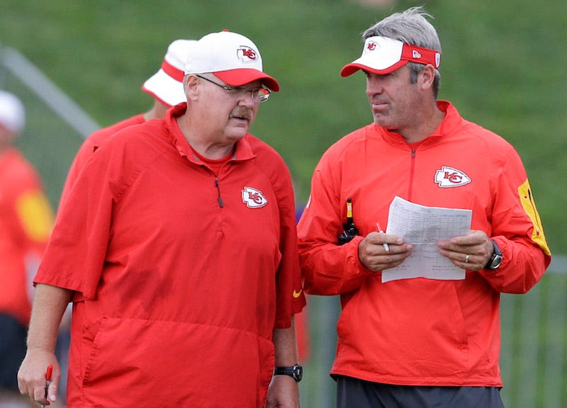 Illustration for article titled Report: Eagles Hire Andy Reid's Offensive Coordinator