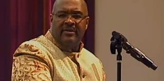 Marvin Winans, pastor of the Perfecting Church in Detroit (YouTube screenshot)