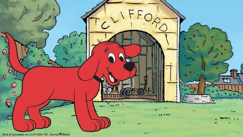 Illustration for article titled R.I.P. Norman Bridwell, creator of Clifford The Big Red Dog
