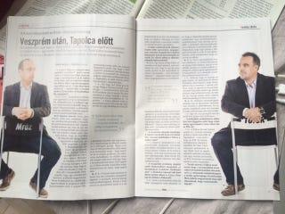 Illustration for article titled Az összeomlott GFG kiszállt a Heti Válasz sorozatából