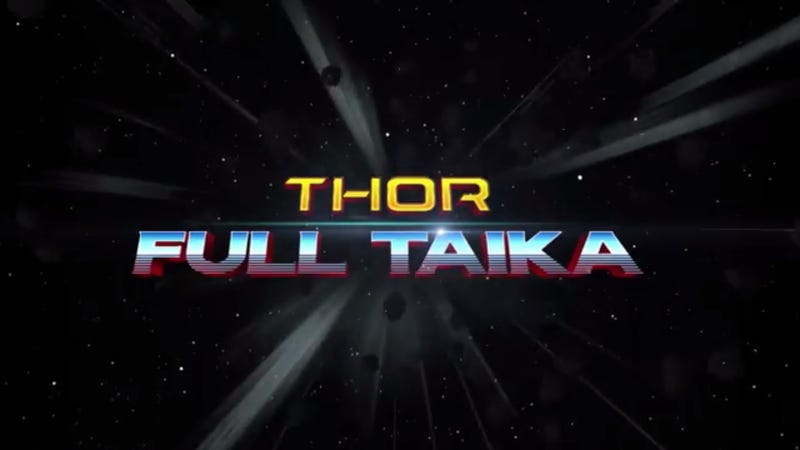 Illustration for article titled Brand New, 100% Real Trailer for Thor: Ragnarok Is Here, I Swear!