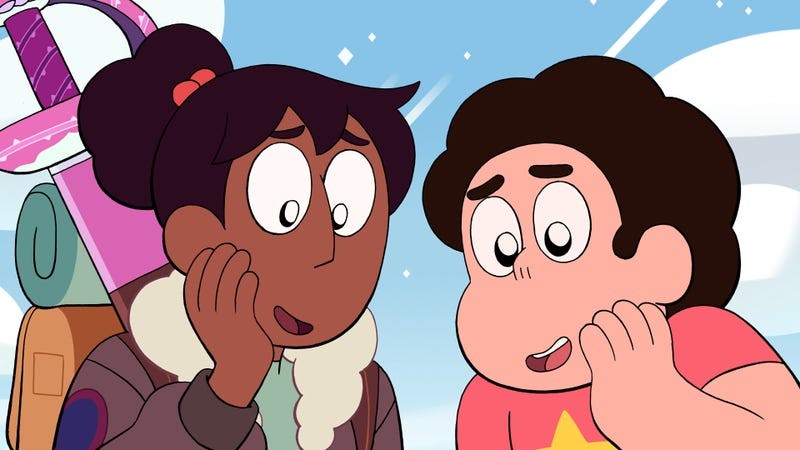Illustration for article titled Steven Universe spends two intense episodes in space with a new Lars and an old fusion