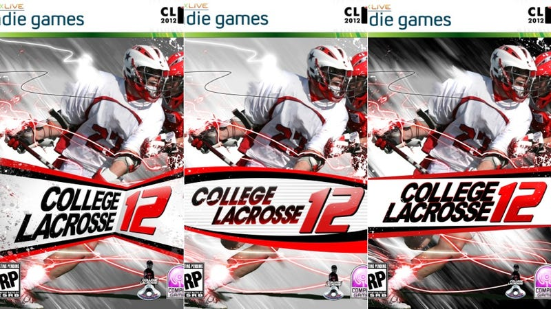 Illustration for article titled You Can Vote on the Cover of the Next ... Lacrosse Game?