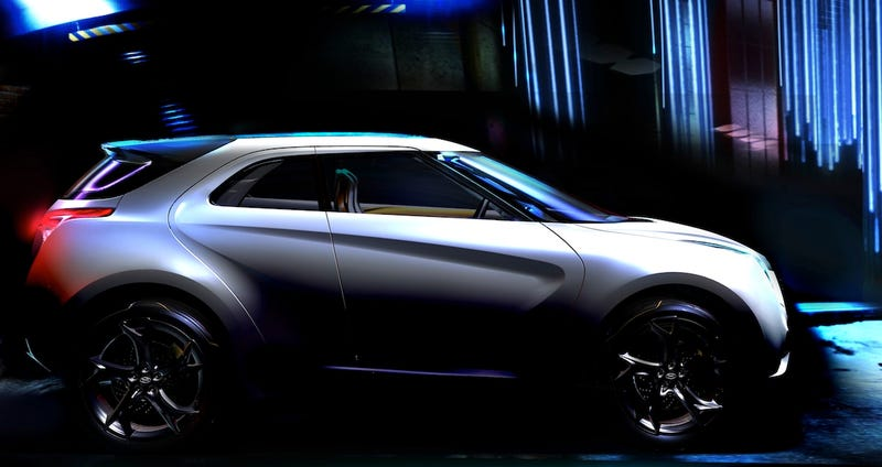 Illustration for article titled Hyundai Curb: Sci-Fi Tiny SUV